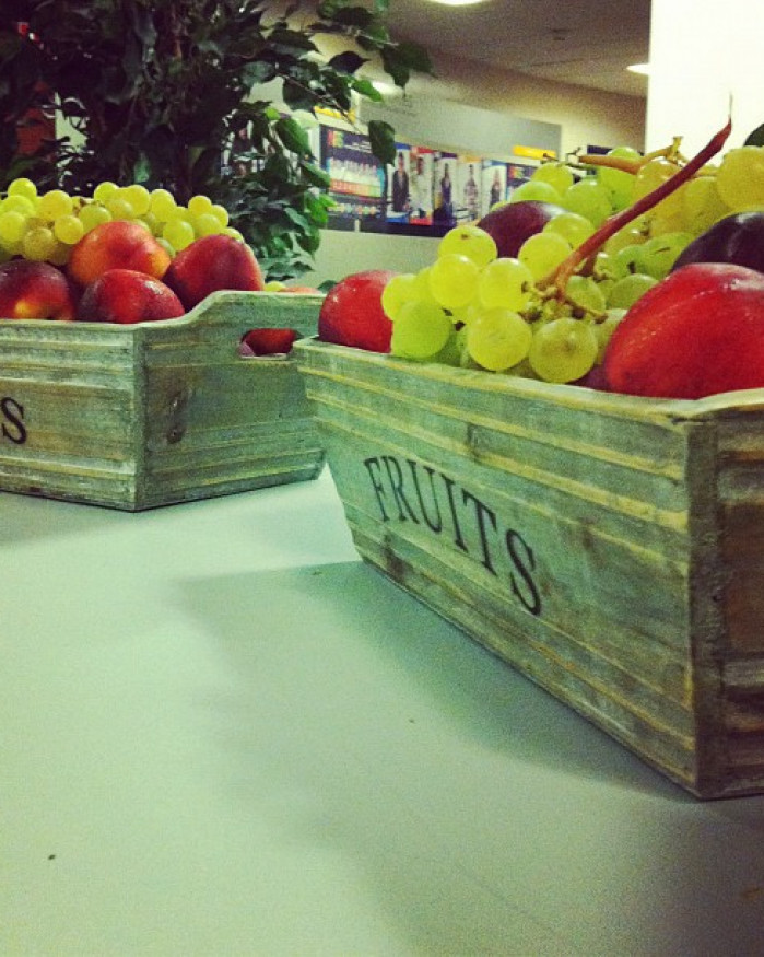 Ça C cool - Corbeille de Fruits Frais 3 variétés  - Collation au Bureau  1 à 5 personnes