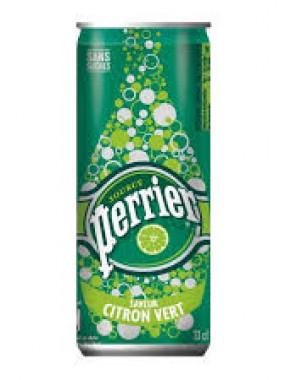 Soft Drink PERRIER Boisson Gazeuse cannette slim 33cl